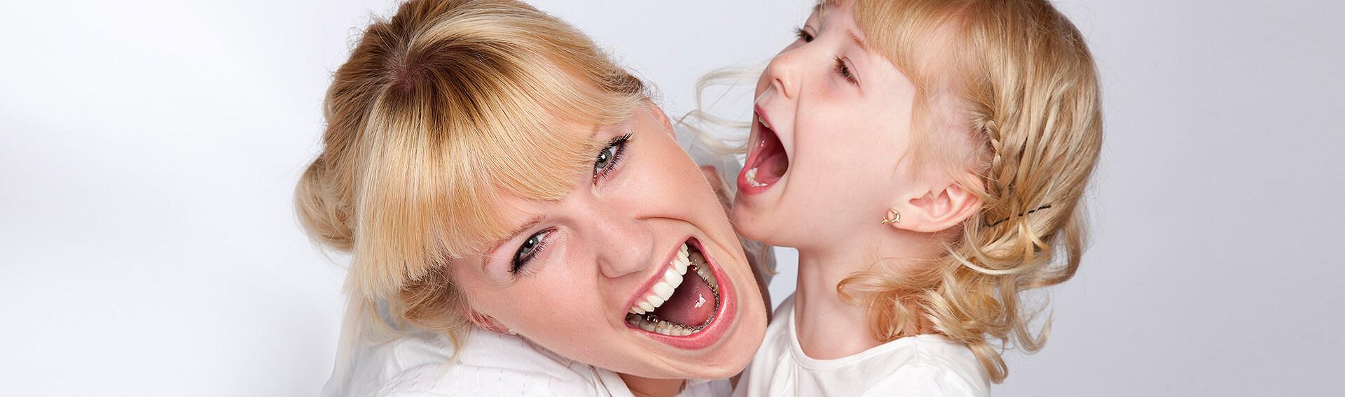 Unsichtbare Zahnspange auf der Zahninnenseite - Incognito